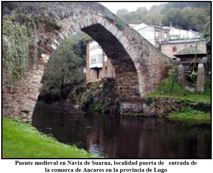 Puente romano en Navia de Suarna