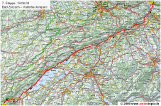Mapa etapa 7