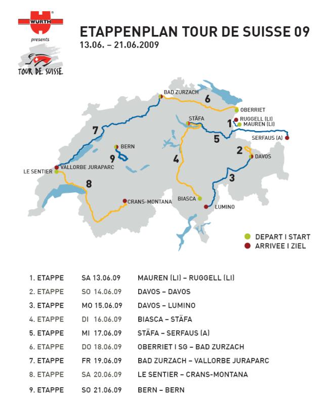 Tour de Suisse 09