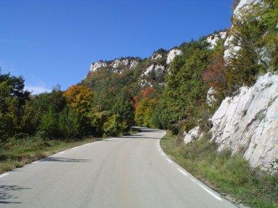 Foto del tramo de subida hacia Fumanya, de ramacabici.com.