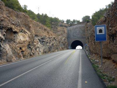 Foto nº7. Subida al túnel.