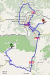 mapa benasque - saut deth pish