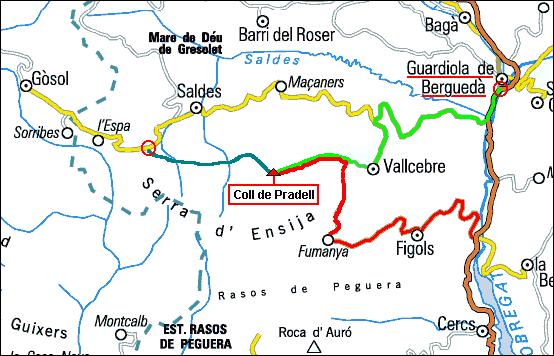 mapa pradell