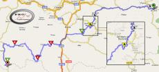 mapa cangas - somiedo