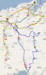 santander - torrelavega mapa