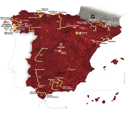 mapa vuelta 2013