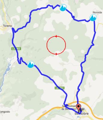 Mapa Toreno