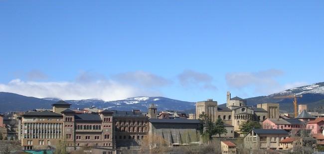 Vista de La Seu d'Urgell, de wikipedia.