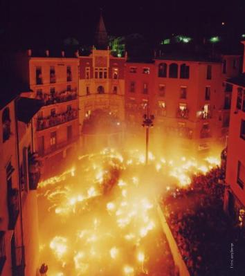 La fiesta de la Patum de Berga es Patrimonio Cultural Inmaterial de la Humanidad. Foto de ajberga.cat.
