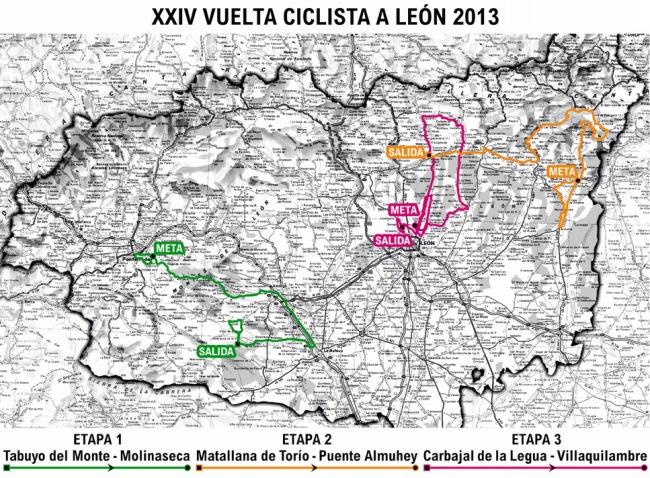 mapa general leon 2013