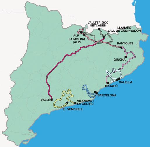Mapa Volta 2014