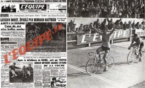 L´Equipe Roubaix 1956_Bobet
