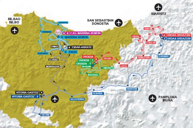mapa pais vasco 2014