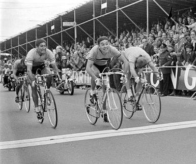 Mundial 1967_Merckx_Janssen_Saez