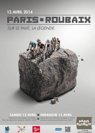 Poster Paris-Roubaix 2014