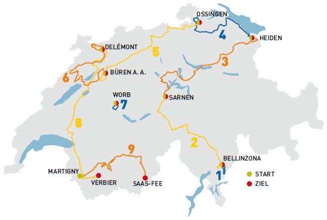 vuelta suiza 2014 mapa
