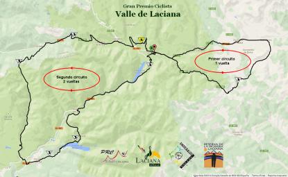 Mapa Clasica Laciana