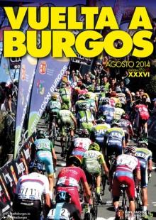 cartel vuelta burgos 2014