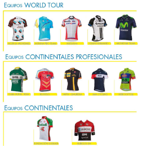 equipos burgos 2014