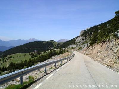 Vista de la zona del Xalet del Coll de Pal. Foto de Raül Massabé.