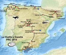 Mapa Vuelta PRC