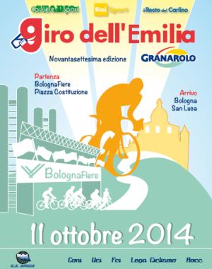 Poster Giro Emilia 2014