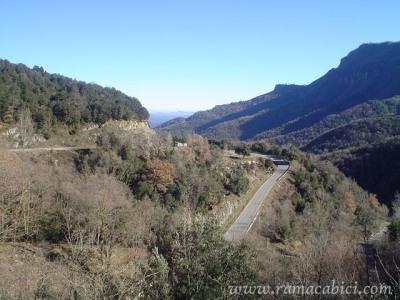 Vista del Coll de Bracons, de Raïl Massabé.