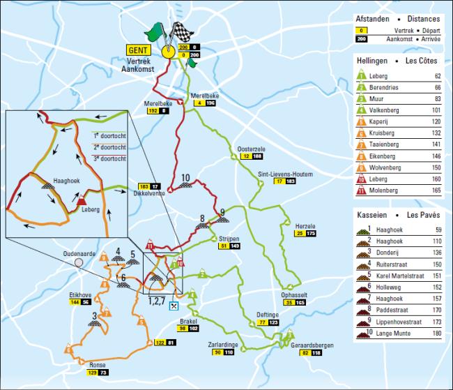 Omloop mapa 2015