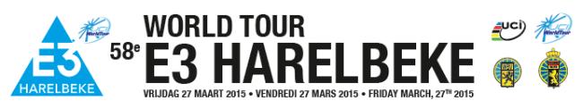 logo e3 harelbeke 2015