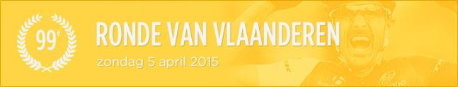 cartel tour de flandes - ronde vlaanderen 2015