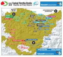 mapa vuelta pais vasco itzulia 2015
