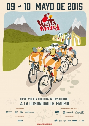 cartel vuelta a madrid 2015