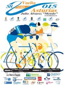 cartel vuelta asturias 2015