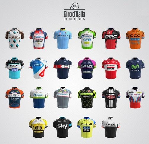 equipos giro 2015