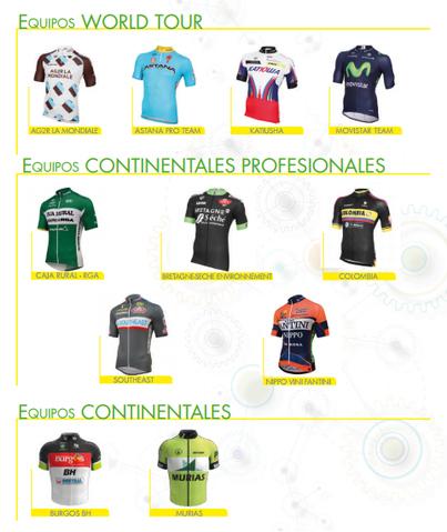 equipos vuelta burgos 2015