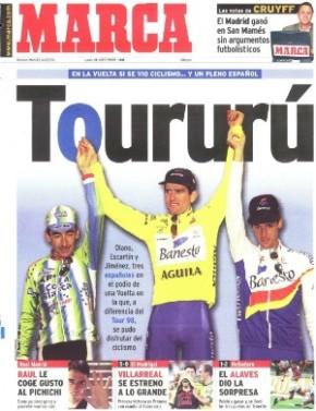 portada marca podio vuelta 1998