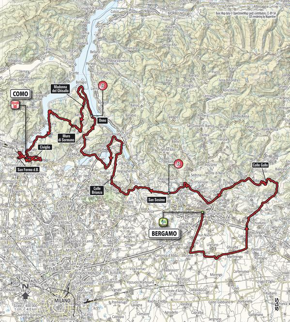 Giro Lombardia 2015_planimetria