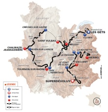 mapa dauphine 2016