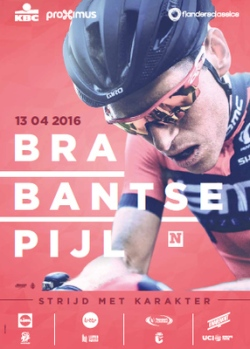 cartel Brabantse Pijl - Flecha Brabanzona 2016