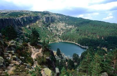 La Laguna Negra es la guinda de la etapa. Foto de sorianitelaimaginas.com.