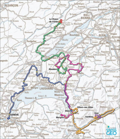 tour de romandie carte 2016