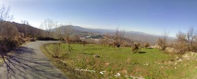 Vista subiendo las duras rampas de La Hondilla. De Google Street View.