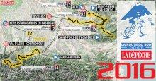 mapa general Ruta del Sur 2016