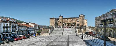 Palacio Ducal en la Plaza Mayor de Béjar. Foto de S. Hoya.