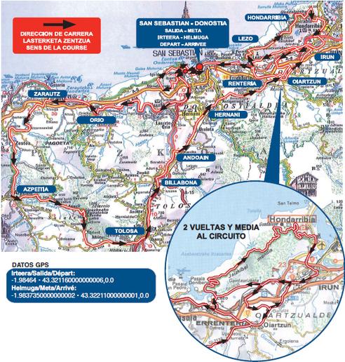 mapa san sebastian 2016