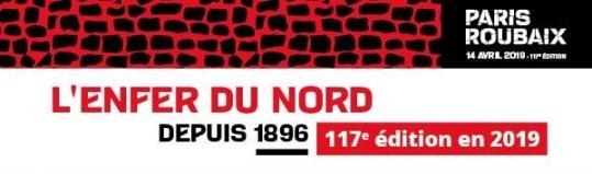 logo paris roubaix 2019